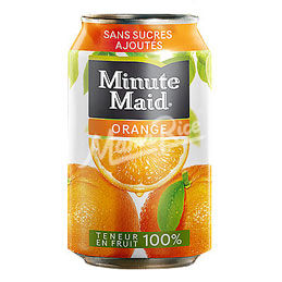 Cuisine africaine Minute Maid Orange 33 CL au restaurant africain et halal Mama Rice